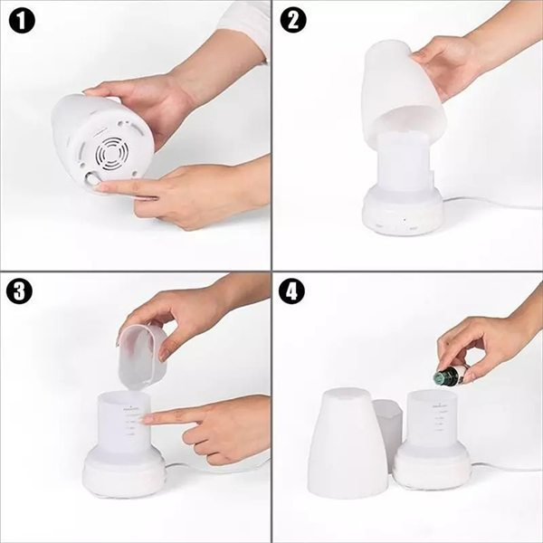 7 Color LED Aromatherapy How To