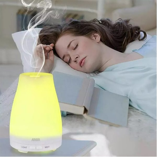 7 Color LED Aromatherapy diffuser-Display