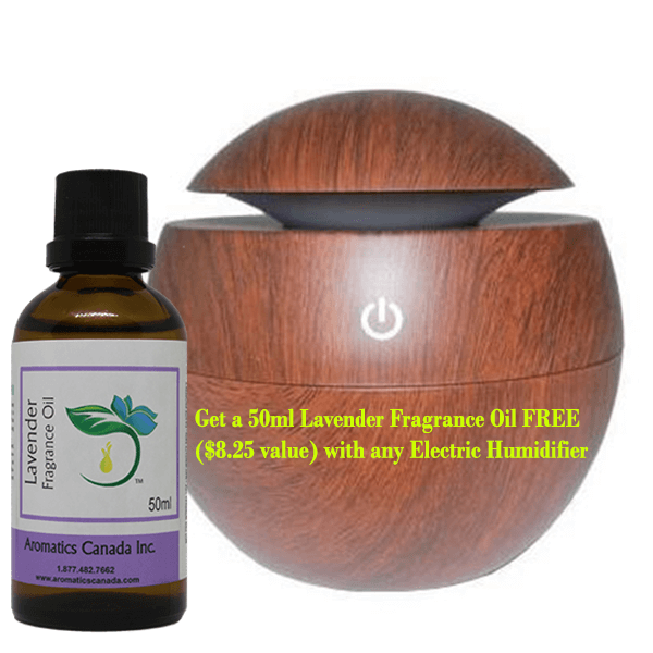 Wood Diffuser with Lavender Fragrance Oil-new