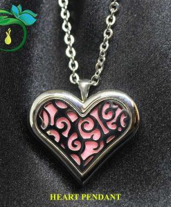 Heart Pendant with Logo