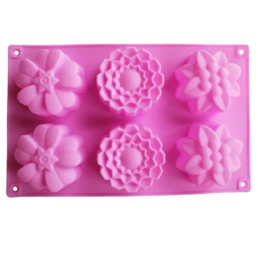 Assorted Cupcake Soap Mold
