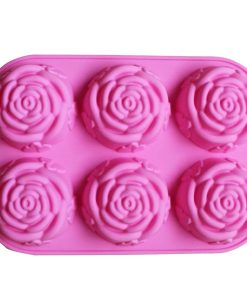 Flower Shaped Soap Mold
