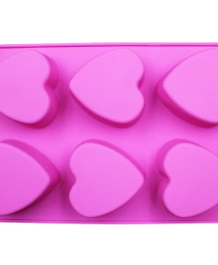 Heart Shaped Soap Mold