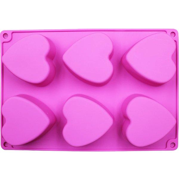 Heart Shaped Soap Mold