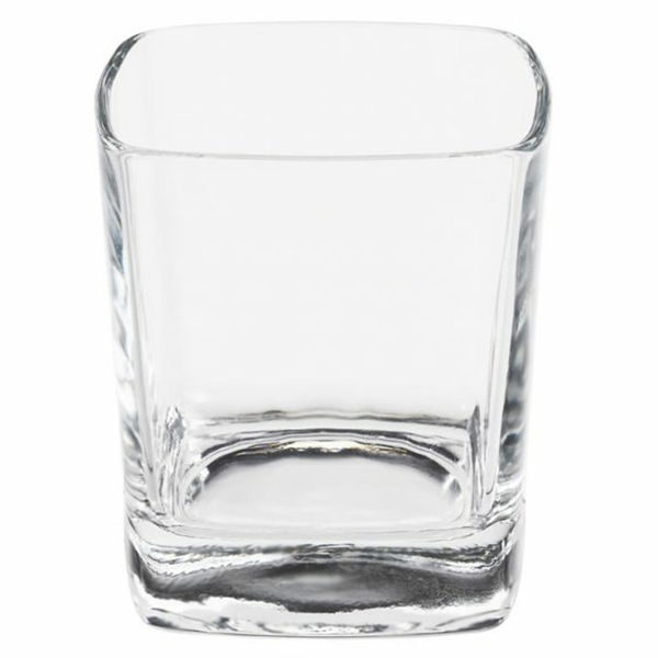 Candle glass container